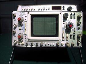 PRICE DROP Tektronix 466/DM44 Storage Oscilloscope, Cal'd, NEAR-MINT - REALLY!
