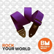 Ernie Ball 4045 Polypro Guitar Strap Super Long Purple Adjustable