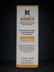 Kiehl's POWERFUL-STRENGTH Line Reducing Concentrate. 1.7 oz/50 ml.