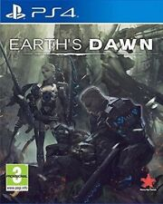 Earth's Dawn Ps4 Sony PlayStation 4 UK PAL Factory