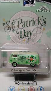 Greenlight Exclusives St Patrick's Day Volkswagen Panel Van (NG110)