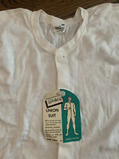 Vintage 70s Mayo Spruce Union Suit Size L 40 deadstock Nwt Sexy Underwear