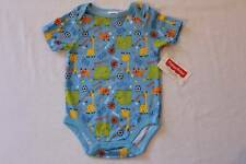 NEW Baby Boys Bodysuit 6 - 9 Mo Animal Sports Creeper Outfit Soccer Basketball