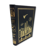 EASTON PRESS CITY by Clifford Simak Leather 1995 Collector's Edition