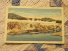 Vintage Postcard Falls Of The Big Horn Hot Springs, Thermopolis, Wyo.