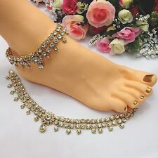 Indian Jewellery Asian Bridal Party Ethnic Wear Bollywood Anklets Payal Pazaib