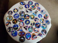 Large Lot of 43 Nasa Mission Crew Patch Stickers New Collectible Gift Resale