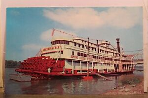 Kentucky KY Owensboro Ohio River Steamboat Sternwheeler Postcard Old Vintage PC