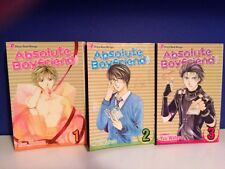 Absolute Boyfriend Volume 1 - 3 Manga Shojo Beat By Yu Watase Viz Media