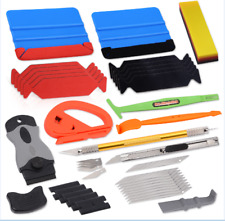 Car Window Tint Tool Kit Auto Film Wrapping Applicator Squeegee Installation UK