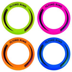 1/4/8/12x Wurfring Neon Flying Ring ca.25cm Jonglierringe Wurfspiel