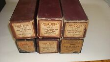 "Player Piano Roll 6 Lot""Where is My Boy Tonight,""I'm Just a Little Blue for You"""