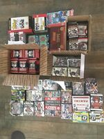 6 Sealed Football Packs 2011-2017-lot from Boxes-Mahomes/Wentz/Goff Rookie!