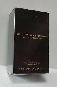 BLACK CASHMERE DONNA KARAN Eau de Parfum 50ml SPRAY ( BRAND NEW SEALED ) RARE***