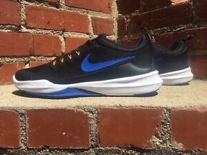 Nike Legend Trainer Black with Blue & White Sneaker Men Size 10 Style 9242006007