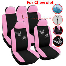 Universal Car Seat Covers Pink Car Accessories Fit for Chevrolet Equinox Cruze