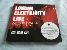LONDON ELEKTRICITY LIVE AT THE SCALA CD + DVD ALBUM NHS107CDDVD