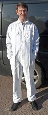 "40"" White Nylon Boilersuit, Zip Front, Elasticated Cuffs/Ankles £10 Inc post/VAT"
