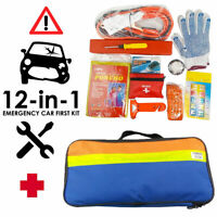12 in 1 Emergency Roadside Assistance Kit Vehicle Car Safety Gear Tool Kits AU