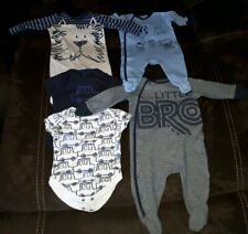 NEXT Baby Boy 0-6 months  Bundle of 5 grows. Used but Good condition.