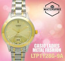 Casio Ladies' Standard Analog Watch LTP1128G-9A