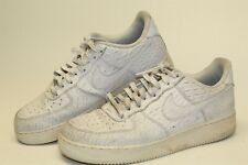 Nike Air Force 1 '07 Mens Size 11 45 Low Lace Leather Sneakers Shoes 718152-103