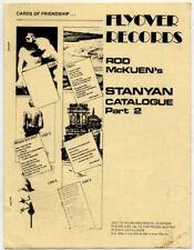 Rod McKuen Stanyan Flyover Records 1975 UK Catalogue Pt.2