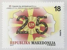 Makedonien Macedonia 2017 Nr. 805 25 Jahre Republik Mazedonien APM