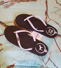 NEW Victoria's Secret PINK Flip Flops Sandals Thongs medium ❤️
