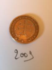 1 EURO SLOVAQUIE 2009