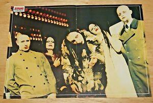 MARILYN MANSON original band `large A3 size magazine glossy ART rare poster