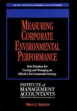 Measuring Corporate Environmental Performance: Best Practices for-ExLibrary