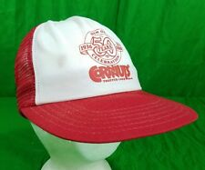 Vtg Cornnuts Hat USA Made 80s Trucker Mesh Snapback 50 yrs Corn Nuts Cap