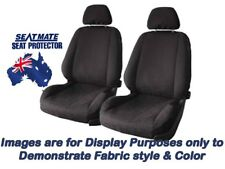 Front Black Seat Covers for FORD Falcon FG Ute XR Series 6/2008 on