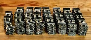 """American Flyer S Gauge RUSTY TRACK LOT of 75 Pieces: 40 Straight & 35 Curved 10"""""""