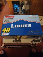 2002Team Caliber Owners Series1/24 Jimmie Johnson #48 Lowe's Blue Chrome Chevy.
