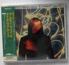 KIRSTY MACCOLL - Titanic Days JAPAN CD OBI WMC5-693 RAR!