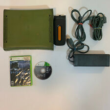 Xbox 360 Halo Limited Edition Green Console + Hard Drive + Halo 3 & Halo Reach
