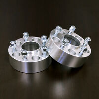 """2pc 2"""" Hubcentric 5x4.5 to 5x4.5 Wheel Spacers 
