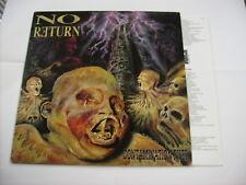 NO RETURN - CONTAMINATION RISES - LP VINYL NEW UNPLAYED 1991