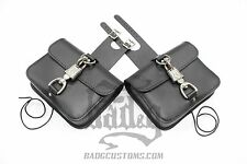 Harley DYNA Throw Under Seat Cover Bags - DTU05 BAD&G CustomS