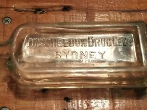 1930s SHELDON DRUG Co Ltd  SYDNEY  eucalyptus / liniment  bottle
