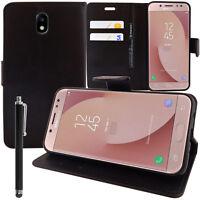 "Etui Housse NOIR Portefeuille Video Rabat Samsung Galaxy J7 Pro 5.5"" + Stylet"