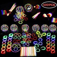 Glow Stick LED Light Party Favor Glow Glowsticks Kids Birthday Halloween Party
