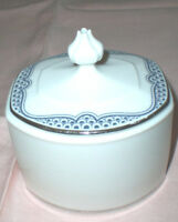 Franciscan MASTERPIECE Sugar Bowl with Lid / Interpace