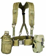 Military Outdoor Clothing Previously Issued US GI OD Green Canteen Set with S...