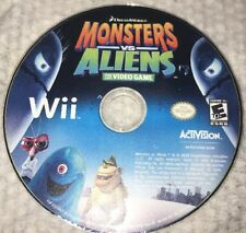 Monsters Vs Aliens Nintendo Wii Game Only 27d