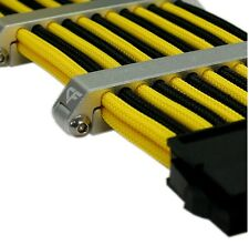 Nanoxia CoolForce 24 Aluminium Cable Clip, Cable Tidy Clip, Cable Clips