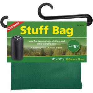 "Coghlan's Stuff Bag, 14"" x 30"", Sack Pouch Sleeping Camping Clothing Storage"