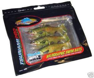 Tsunami Trout 3 / Pike Zander Fishing Soft Lure